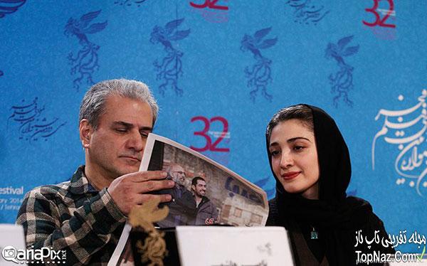 عکس بازیگران فیلم خانه پدری در نشست خبری