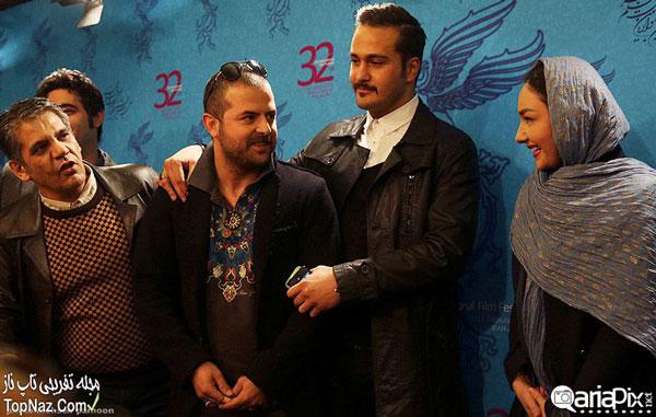 عکس بازیگران در نشست خبری فیلم خط ویژه