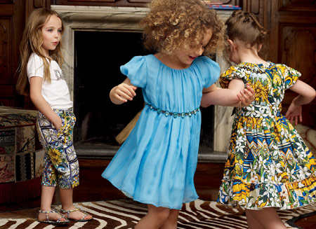 لباس بچه گانه Dolce & Gabbana, مدل لباس بچه گانه