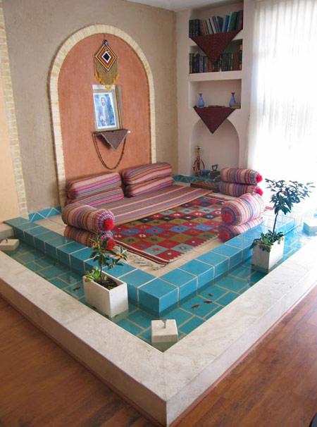 دکورهای سنتی خانه, نحوه چیدمان سنتی خانه