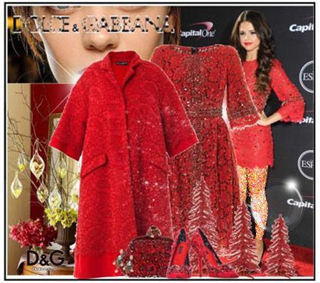 ست کردن لباس قرمز خانم ها