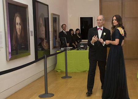 لباس های کیت میدلتون, کیت میدلتون در مراسم گالری ملی پرتره