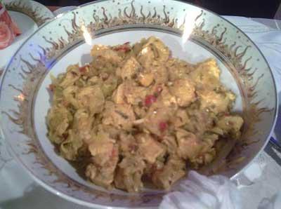 طرز تهیه مسمای مرغ
