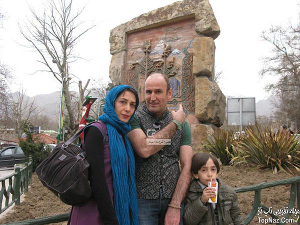 صالح آقا میرزایی و همسر و پسرش