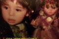 دو عکس دیدنی و متفاوت از کودکی نیوشا ضیغمی