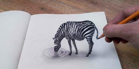 زیباترین نقاشی های سه بعدی از Ramon Bruin