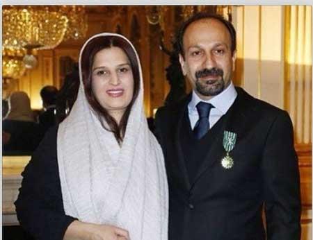 عکس های اصغر فرهادی و همسرش در فرانسه