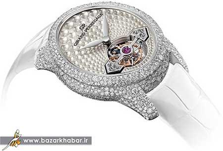 مدل ساعت الماس مخصوص ثروتمندان! +عکس و قیمت