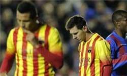 مسی از بارسلونا می رود