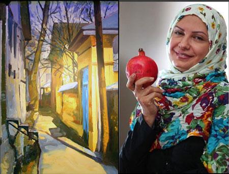 مصاحبه با لعیا زنگنه نقاش