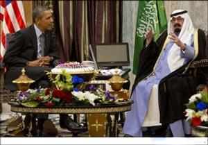 دلیل سفر اوباما به عربستان چیست؟