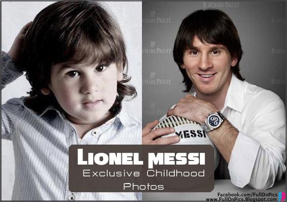 عکس کودکی فوتبالیستها