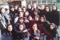 عکس نوجوانی مهناز افشار در دبیرستان
