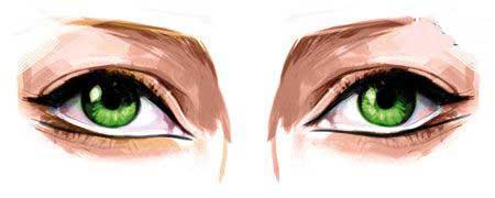 آموزش آرایش چشم های ریز