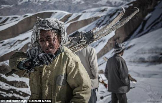 تصاویری از اسکی دختران افغانستان