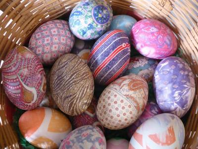 ایده های رنگ کردن تخم مرغ برای هفت سین
