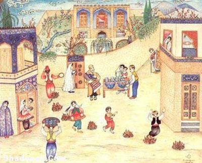 آداب و رسوم چهارشنبه سوری در تبریز