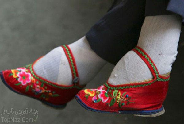 پاهای عجیب و زشت زنان چینی
