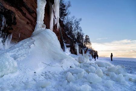 عجایب طبیعت,دریاچه یخی
