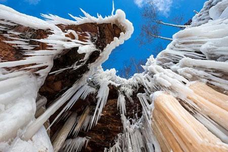 تصاویر غار یخی,عکسهای غار یخی