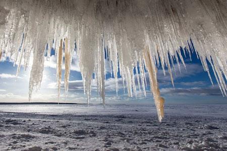 عکس های غار یخی,غار یخی