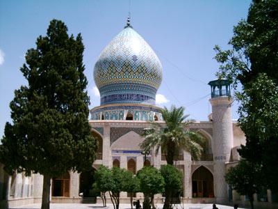 علی بن حمزه(ع),مساجد تاریخی شیراز