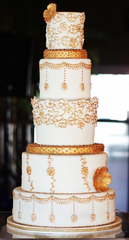 کیک های عروسی,انواع کیک عروسی