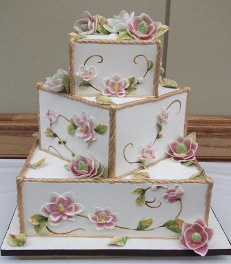 کیک عقد,کیک نامزدی