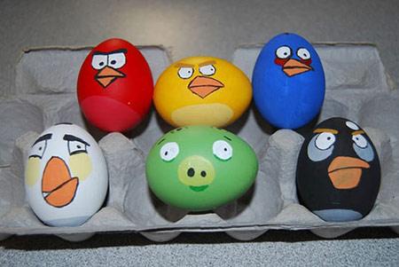 آموزش تزیین تخم مرغ برای سفره هفت سین
