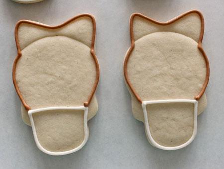 نحوه تزیین شیرینی نوروزی, تزیین شیرینی به شکل اسب