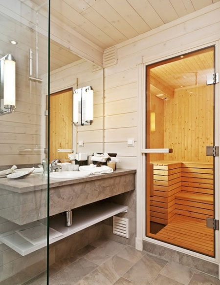 دکوراسیون خانه چوبی, خانه شیک چوبی