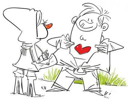 عشق در نگاه اول ؟!