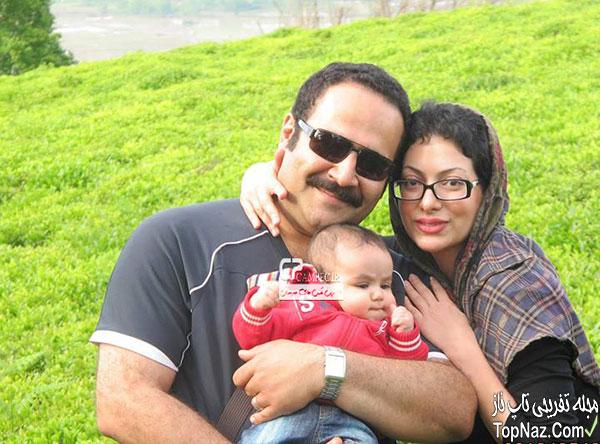 بهادر مالکی و همسر و فرزندش(صدا پیشه فامیل دور)