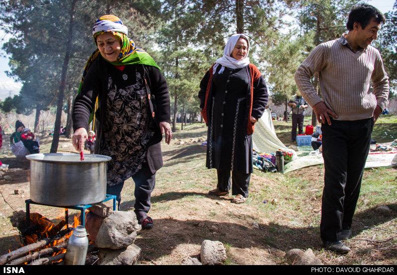 عکس هاي روز طبيعت يا سيزده بدر در تهران (2)