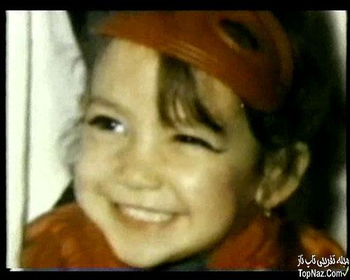عکس جنیفر لوپز در کودکی