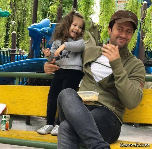 اینستاگرام عکس های دیدنی شاهرخ استخری و دخترش