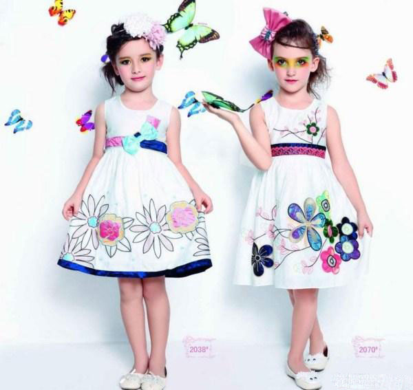 مدل لباس شیک بهار و تابستان دخترانه