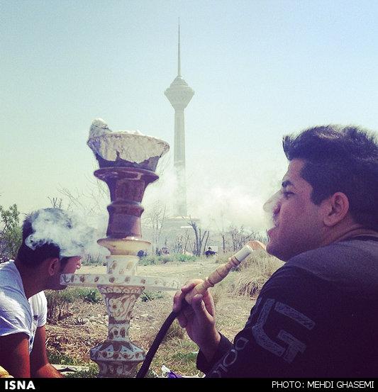 روز سیزده بدر در تهران, روز طبیعت