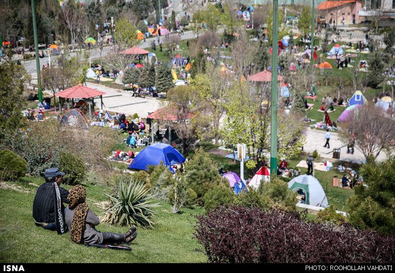 عکس های روز سیزده بدر در تهران, روز طبیعت