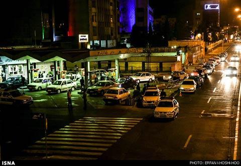 پمپ بنزین های تهران بعد از قیمت جدید سوخت (عکس)