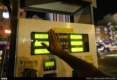 اخبار,پمپ بنزین های تهران بعد از قیمت جدید سوخت