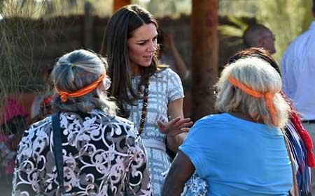 سفر کیت میدلتون عروس ملکه انگلیس به استرالیا