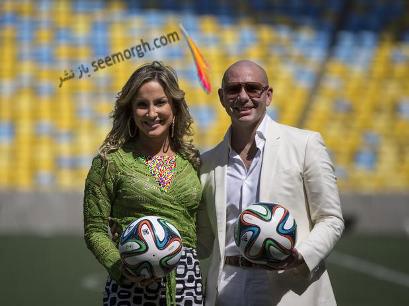 خواننده آهنگ رسمی جام جهانی برزیل+ عکس