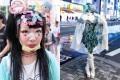 تیپ عجیب و جدید دختران در ژاپن +عکس
