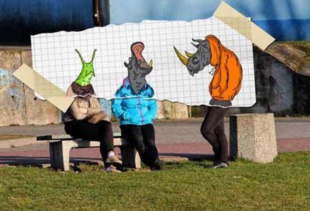 ابتکارات جالب, تصاویر طنز, کاریکاتور های خنده دار