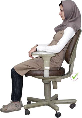 کمردرد,پیشگیری از کمردرد,روش صحیح نشستن