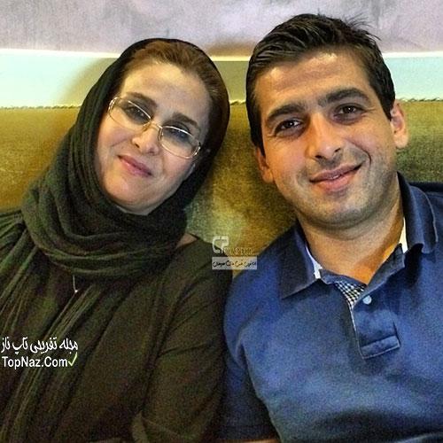 حمید گودرزی و مادرش