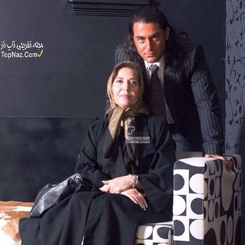 محمد رضا گلزار و مادرش