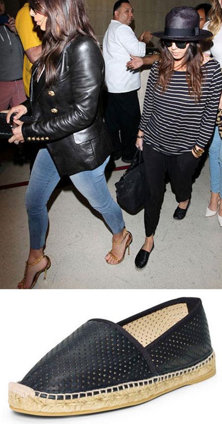 کفش های بهاری ستارگان هالیوودی, مدل کفش های ستاره های هالیوودی