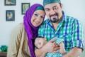 عکس دیدنی برزو ارجمند در کنار همسر و فرزندش
